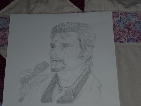 Johnny Hallyday por fanfan